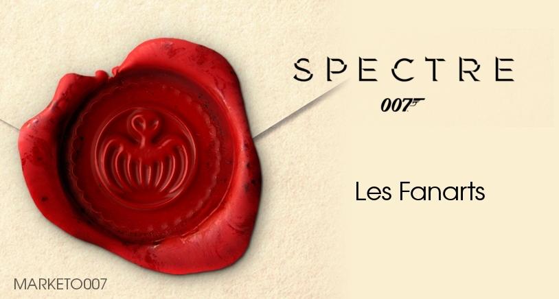 SPECTRE : les premières créations des Fans