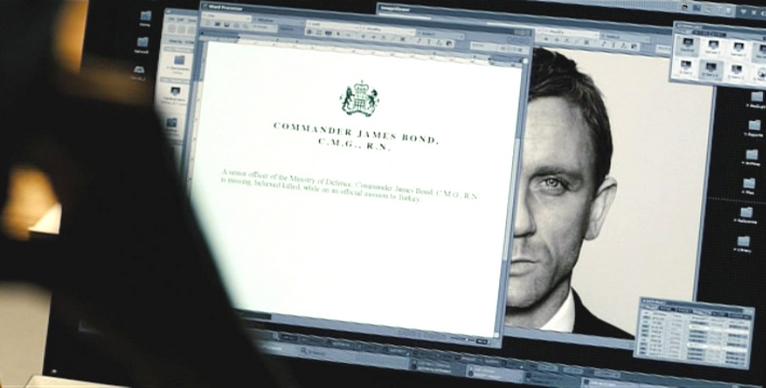 Rapports et évaluations du MI6 sur l'agent 007