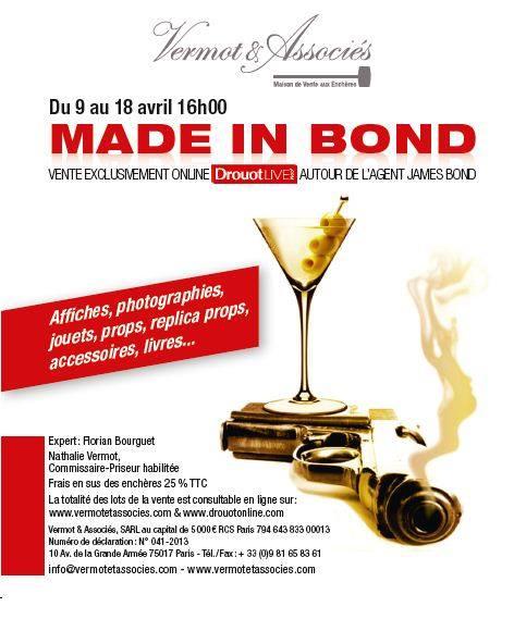 Tout sur la vente aux enchères James Bond du 18 avril