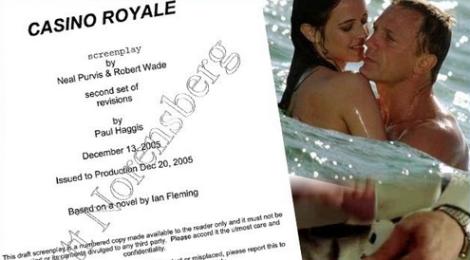 Casino Royale : Le script original et les scènes inédites