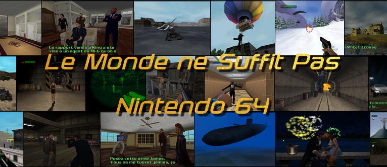 Le monde ne suffit pas - Nintendo 64