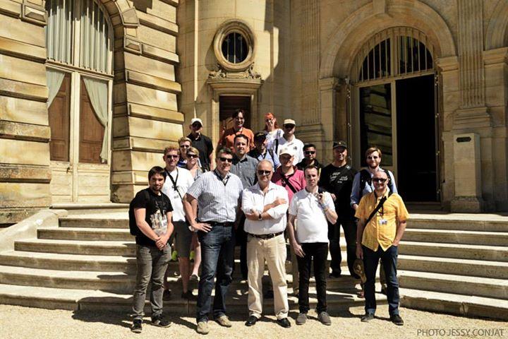 Les fans français et allemands réunis à Chantilly