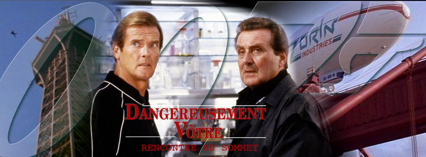 Roger Moore, Patrick Macnee et Dangereusement Vôtre