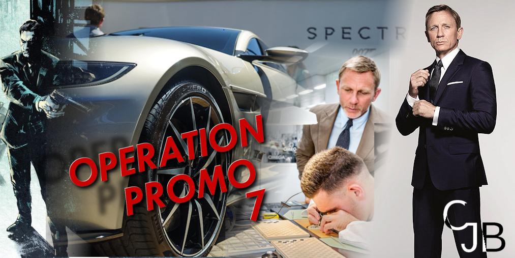 James Bond : la Promo s'intensifie