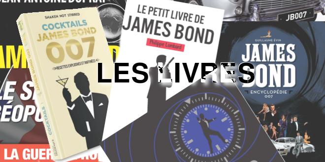 Les nouveaux livres sur James Bond