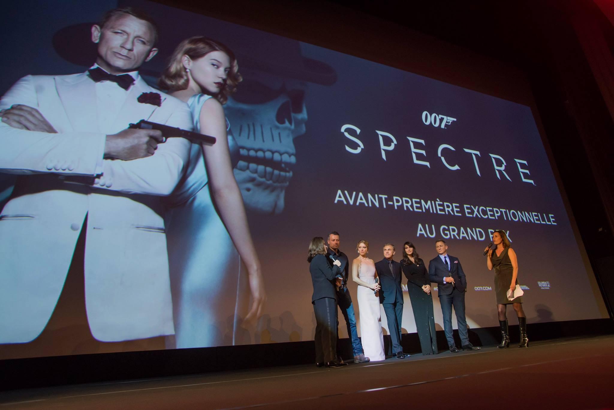Le Bond Day et l'Avant-première française de SPECTRE