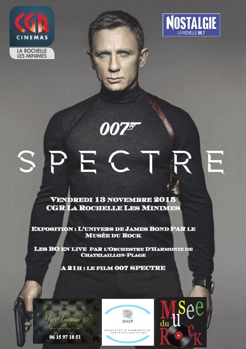 [Evenement] SPECTRE arrive à La Rochelle