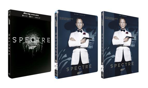 Le DVD et Blu-ray de SPECTRE