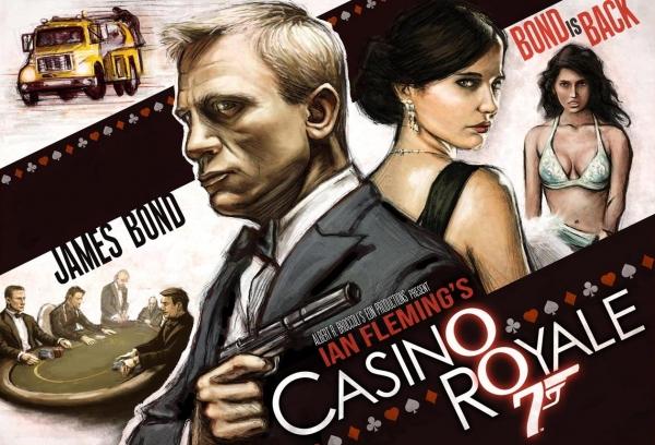 Soirée spéciale Casino Royale au cinéma Les Fauvettes