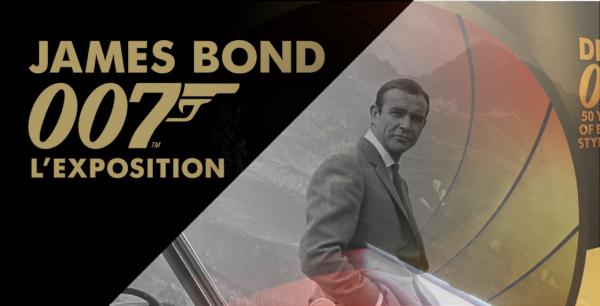 Expo James Bond à Paris : Demandez le programme !